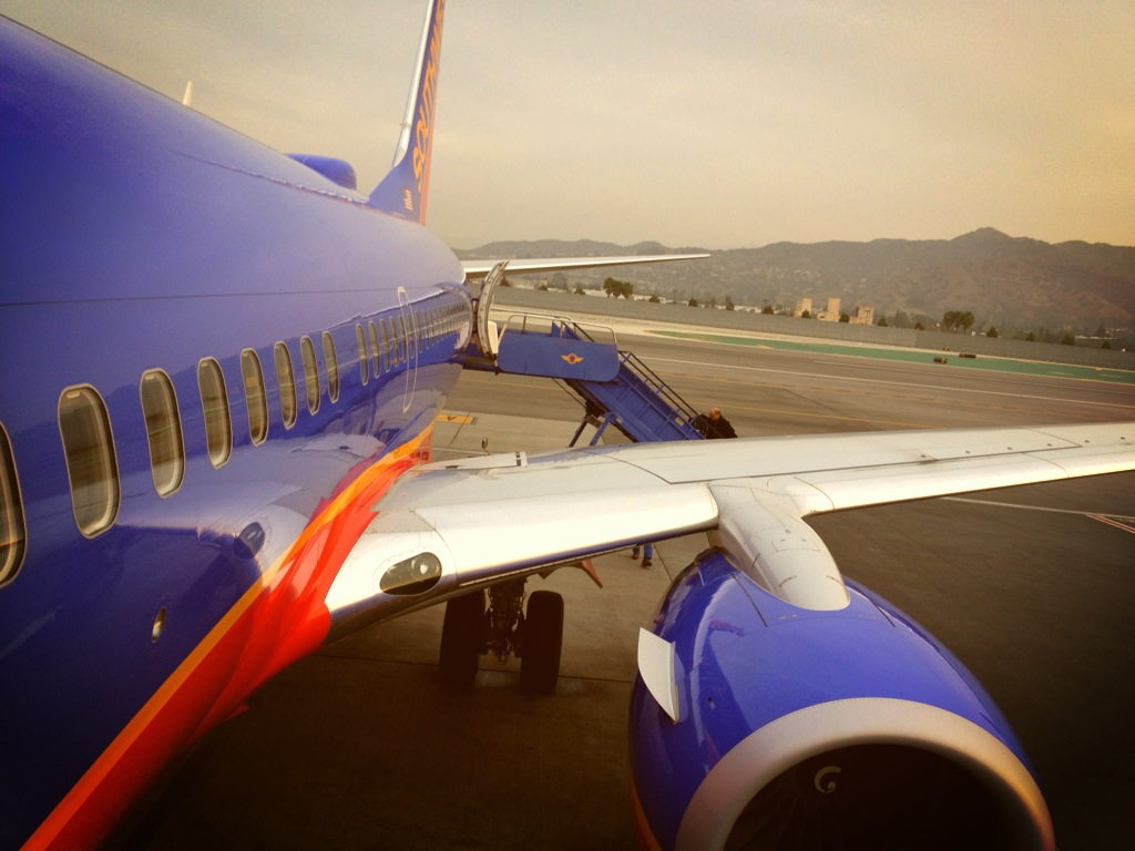 Burbank.  Boarding from the back.  My favorite.  #SoCal